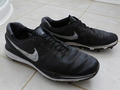 Nike Lunarlow Black Golf Shoes Size 11