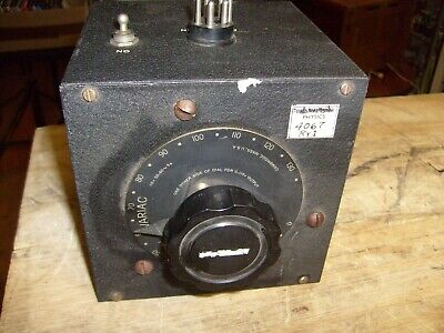General Radio Variac Type 200c Variable Transformer Powerstat In Case 200-c