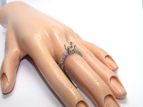 Tacori Platinum Ht2326sol Setting 0.560 Ct Diamonds - Size 6.5us - Retail $5950