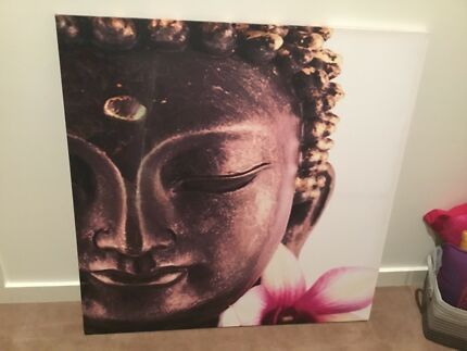 Photo printed on canvas buddha