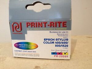 3 colour, Print-Right ink cartridge Epson Stylus Colour printer