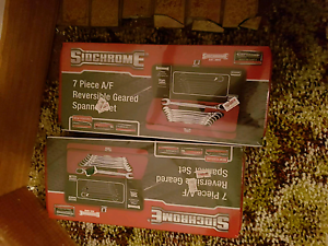 Sidchrome 7P Imperial R/O Ratchet Spanner Set Highclere Burnie Area Preview