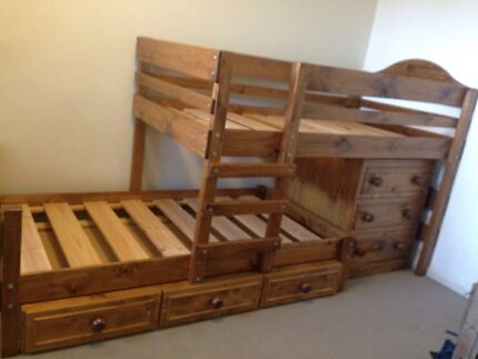 bunkers bunk bed Munno Para West Playford Area Preview