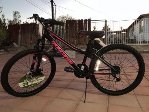 Mongoose Excursion Mountain Bike 24INCH Wheel, 21 Speeds!