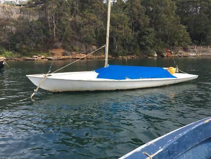 Flying 15 20ft yacht  Mooring minder fiberglass sydney