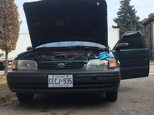 1999 Toyota Tercel part out
