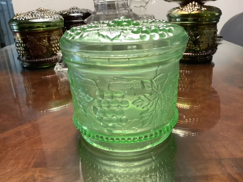 NW GRAPE&CABLE ICE GREEN POWDER JAR
