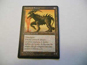 1x-MTG-Cavallo-di-Bronzo-Bronze-Horse-Magic-EDH-LEGGENDE-LEG-ITA-Italiano-x1