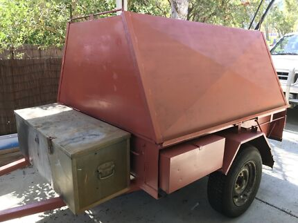 Wanted: 6 x 4 tradesman trailer with 10 months rego