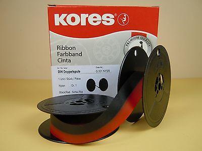 SEIDE Farbband rot/schwarz, Gr. 1, 13 mm für fast alle älteren Schreibmaschinen