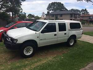 1999 Holden Rodeo Ute White Epping Ryde Area Preview