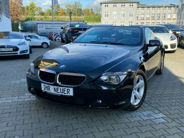 BMW 630i Cabrio ACC/AUTOMATIK/Head-UP/Navi Professio
