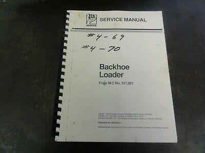 Jcb Backhoe Loader Service Manual