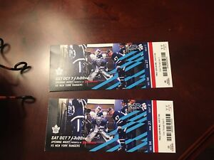 Home opener game maple leaf tickets