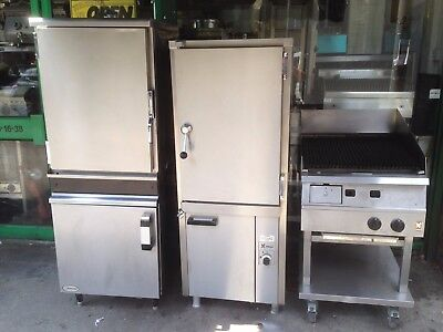 COMMERCIAL  CATERING KITCHEN EQUIPMENT  SECOND HAND GAS PERI PERI STEAM OVEN