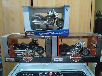 Réplicas De Motos Harley Davidson escala 1/18