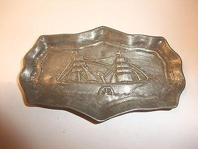 b Puppenstube Kaufmannsladen altes Tablett Schale Vorlegeplatte Untersetzer 1900