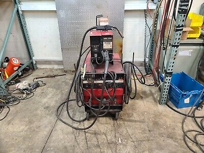 Lincoln Idealarc Cv-300 Mig Welder Ln-7 Wire Feed 2