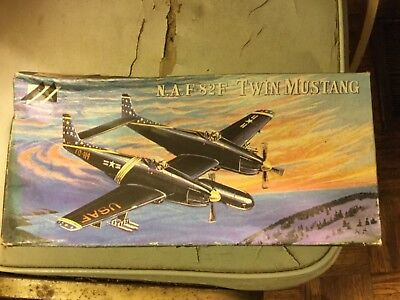 NAF82 F Twin Mustang   1/72 scale Model Kit for sale  Dwight