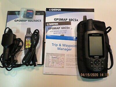 Garmin GPSMAP 60CSx Handheld GPS in Superb condition.SiRF III Chipset.TOPO maps.