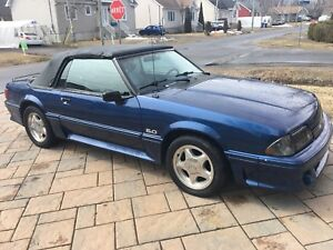 1984 Ford Mustang 5.0 convertible foxbody