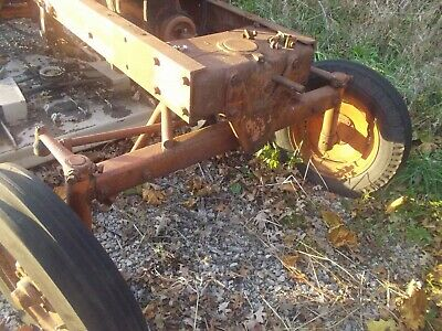 Allis Chalmers Wd 45 Wd45 Ac Tractor 4-bolt Wide Frontend Widefront W Hubs Only