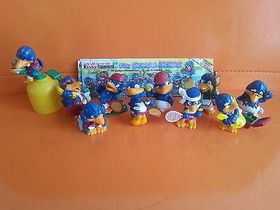 Komplettsatz  Bingo Birds + 5 Beipackzettel - 1996 - Deutschland