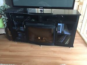 EUC electric Fire place/TV unit