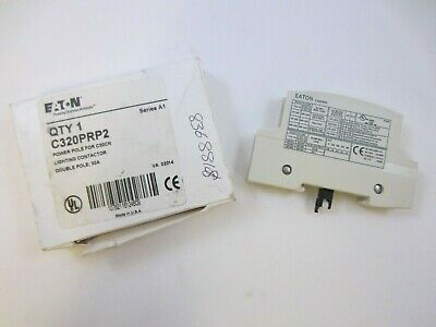 EATON C320PRP2 Lighting Contactor Double-Pole Power Pole 30AMP