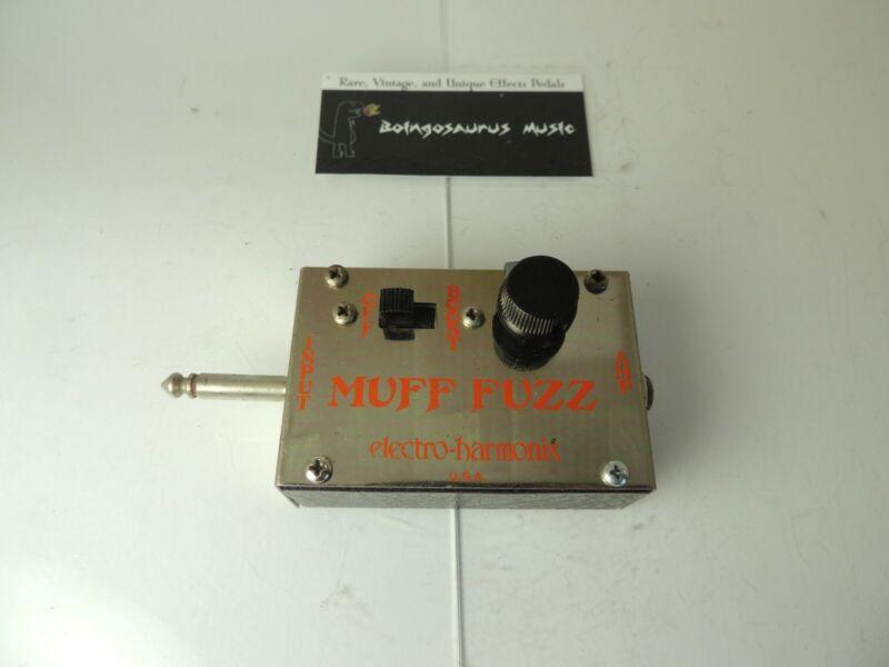 Vintage Electro Harmonix Muff Fuzz Effects Unit Free USA Shipping