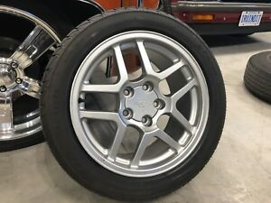 17x9.5 C5 z06  Speedlines with/without tires