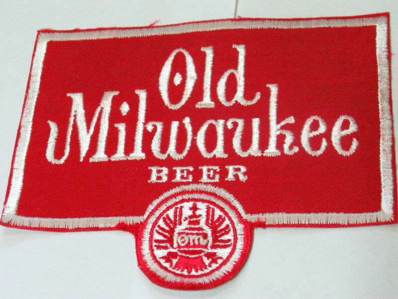 Old Milwaukee L Jacket Patch