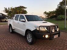 2012 TOYOTA HILUX SR5 4X4 TURBO DIESEL Auto 47,111 in great condition Pacific Pines Gold Coast City Preview