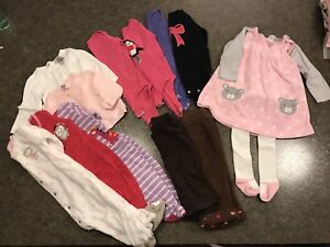 Baby winter clothes lot 6-9 months (and 6-12 months)