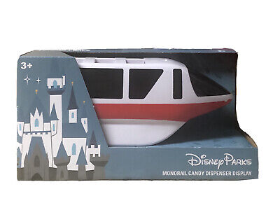 NEW Disney Parks Red Monorial Candy Pez Dispenser Display