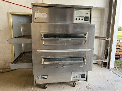 Middleby Marshall 360wb Pizza Oven Conveyor Nat Gas 208-240 V 1phase Tested