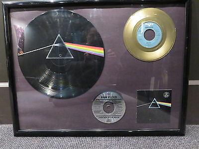 PINK FLOYD DARK SIDE OF THE MOON PICTURE ALBUM - MONEY SINGLE - CD- PLAQUE