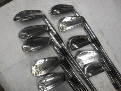 Nice Ben Hogan Power Thrust Iron set 2-E & 45 iron N shafts