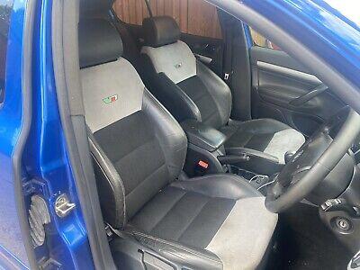 SKODA OCTAVIA VRS Hatch Mk2 (1Z) Set Of Seats Interior Half Leather 04 - 12