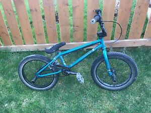 BMX Bike with front & back foot pegs