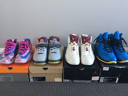 Jordan,Nike,Lebron,KD US10-10.5