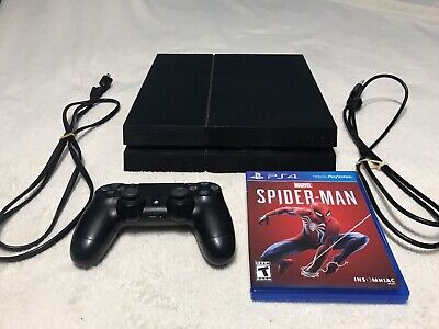 Sony PlayStation 4 500 GB Spider-Man PS4 Bundle