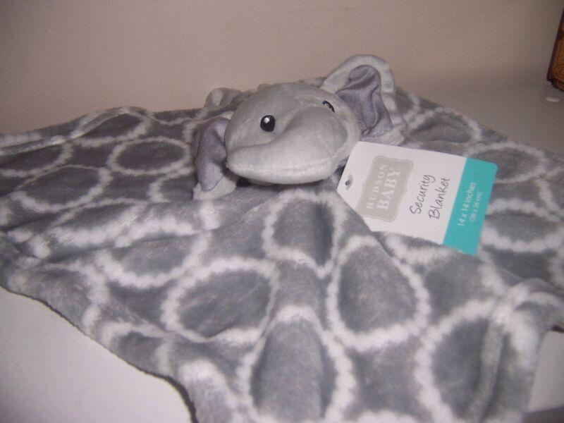 Hudson bay elephant   baby lovey lovely blanket new