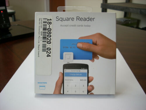 SQUARE A-SKU-0047-01 MAGSTRIPE READER for iPHONE/iPAD/ANDROID ONLY USA NIB (NO)