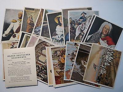 Bilder deutscher Geschichte - Sammelwerk - Album Nr. 12 / 29 x Sammelbild