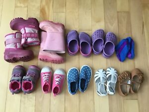 $20 — toddler girl size 6 shoes