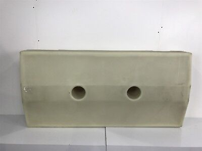 Moeller Boat Fuel Gas Tank FT6030BDV Poly 60 Gallon 60x29x10 Missing Parts #2