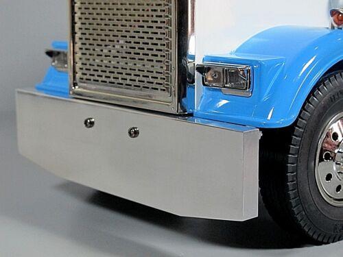 Aluminum Front Bumper Tamiya 1/14 Semi King Knight Hauler Globeliner Semi Truck