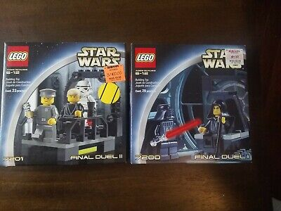 Lot of 2! New! LEGO Star Wars 7200 & 7201 Final Duel I & II