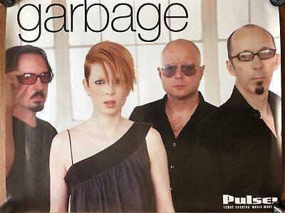 Garbage (Pulse - Tower Records) RARE Original promo Poster